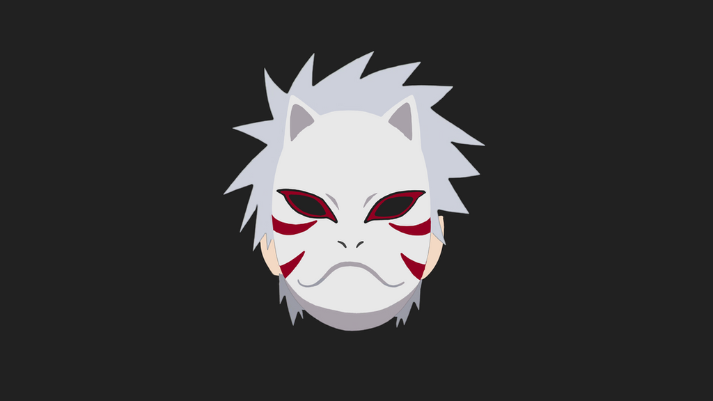 Kakashi Anbu | Flat Minimalist Wallpaper by aldyrmdn on ...