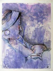 Madonna Study by Mollinda