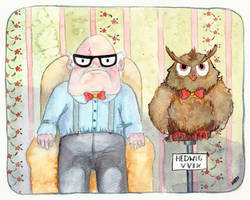 Harry and Hedwig the 19th