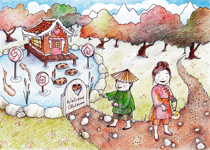 Hansel and Gretel by Mollinda