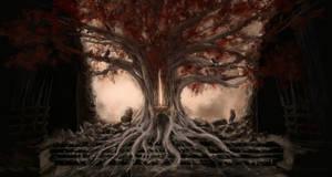 Tree throne