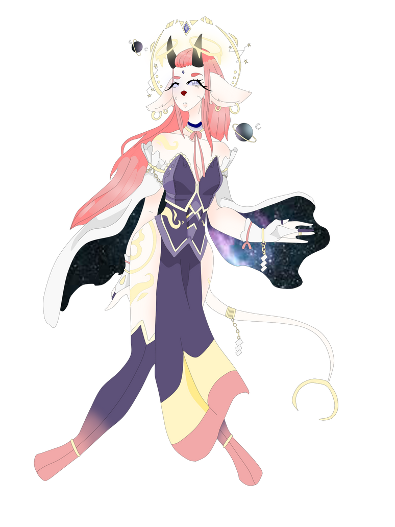 Saturn - Angel of Power by ThatTallChick