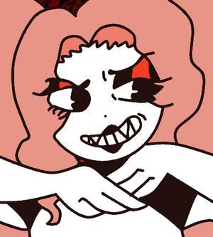 Thana (Old cartoon/Cuphead style)