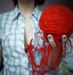 woolen heart by eZhika