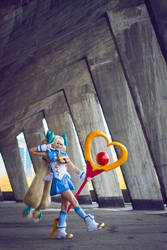 Game Cosplay: BlazBlue CS2 Platinum the Trinity