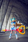 Game Cosplay: BlazBlue CS2 Platinum the Trinity~