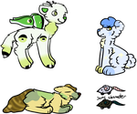 Themed Adopts ~3/4 OPEN~ by Sylly-Wyng-Thyng