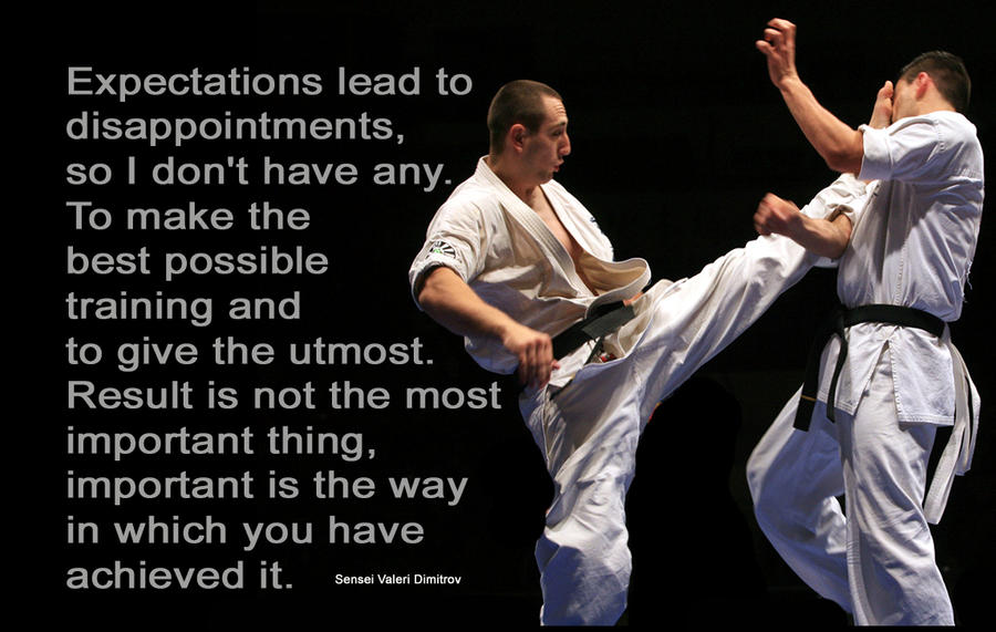 karate quotes images