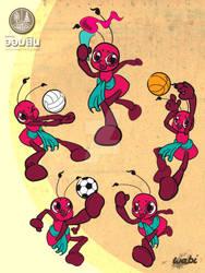 GSB sport mascot