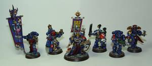 Ultramarines Command Squad