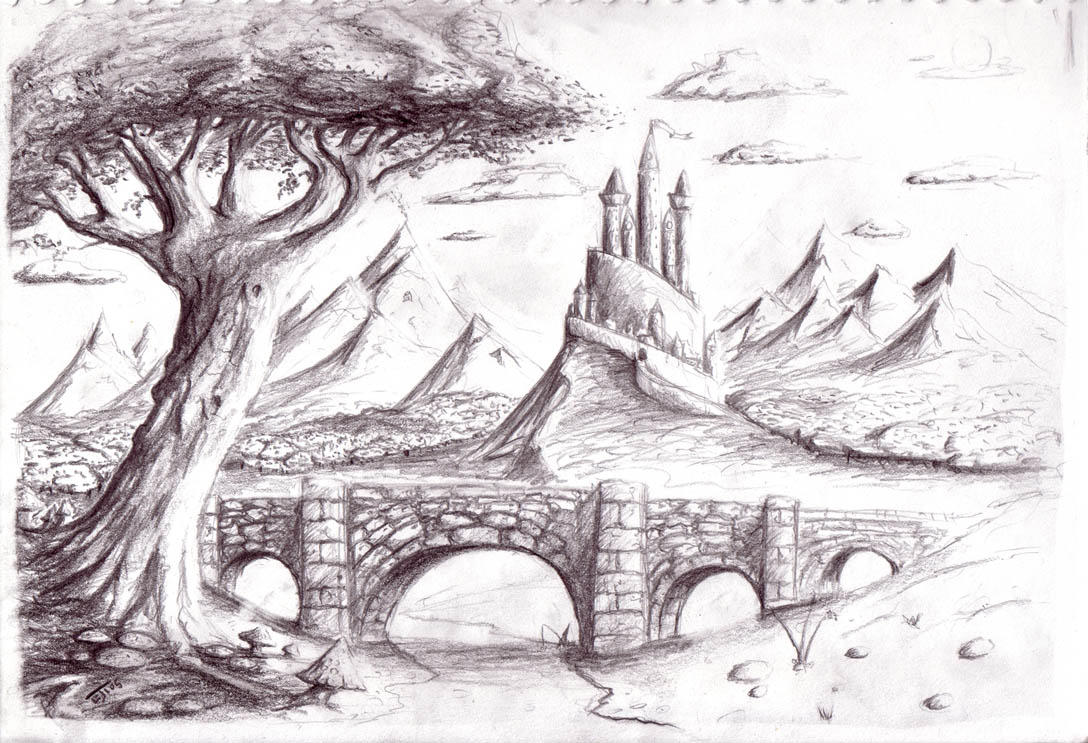 Fantasy Scenery by cyphercodicer2 on DeviantArt