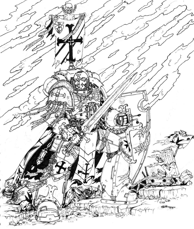 Black Templar k... Future Battle Helmet