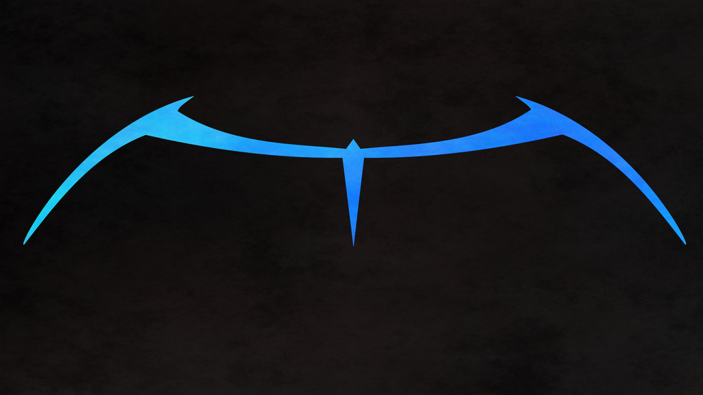 Nightwing Classic Blue wall v1 by van-helblaze on DeviantArt