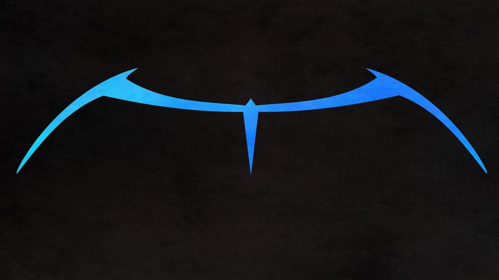 Nightwing Classic Blue Wall V1 By Van Helblaze On Deviantart