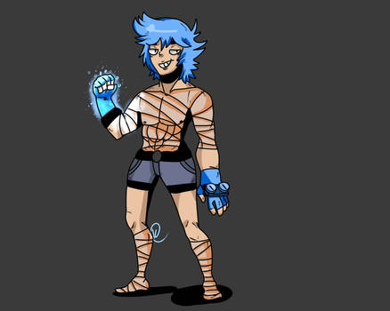Fighter character concept