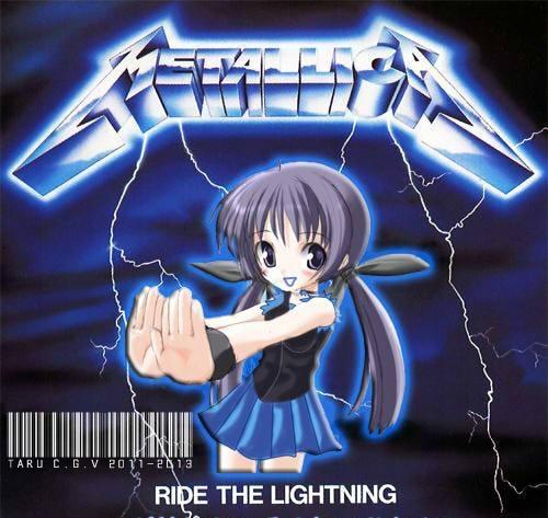Loly Hotaru Futaba Taru Ride The Lightning By Taru Blue