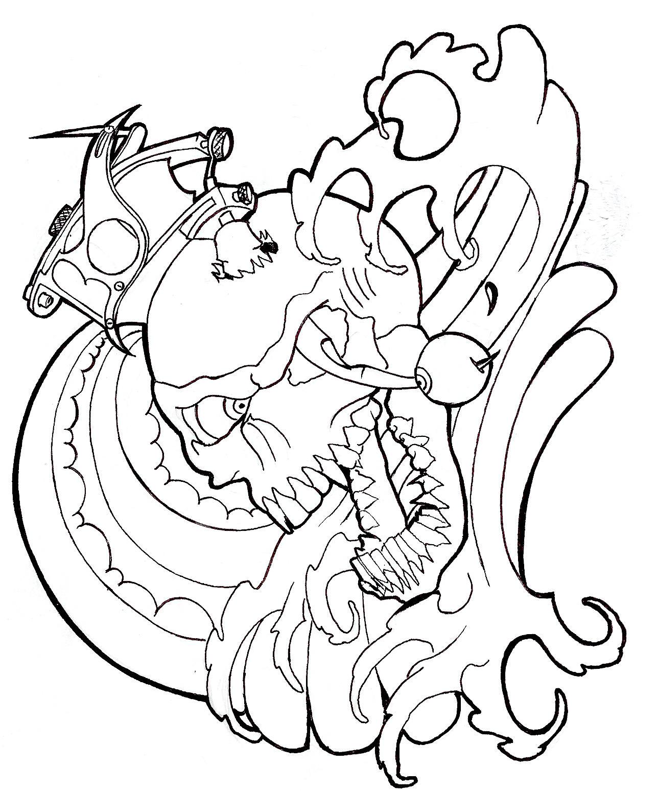 Tattoo Gun Stab By CloudOne On DeviantArt