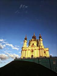 St Andrew's Church, Kiev by NataliGagarina