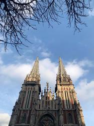 Catholic Cathedral by NataliGagarina