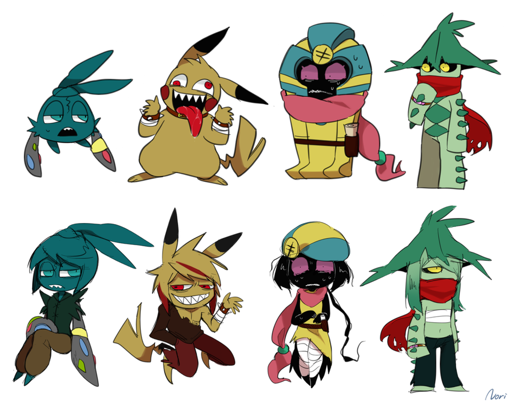 Pokemon X Character Customization Images