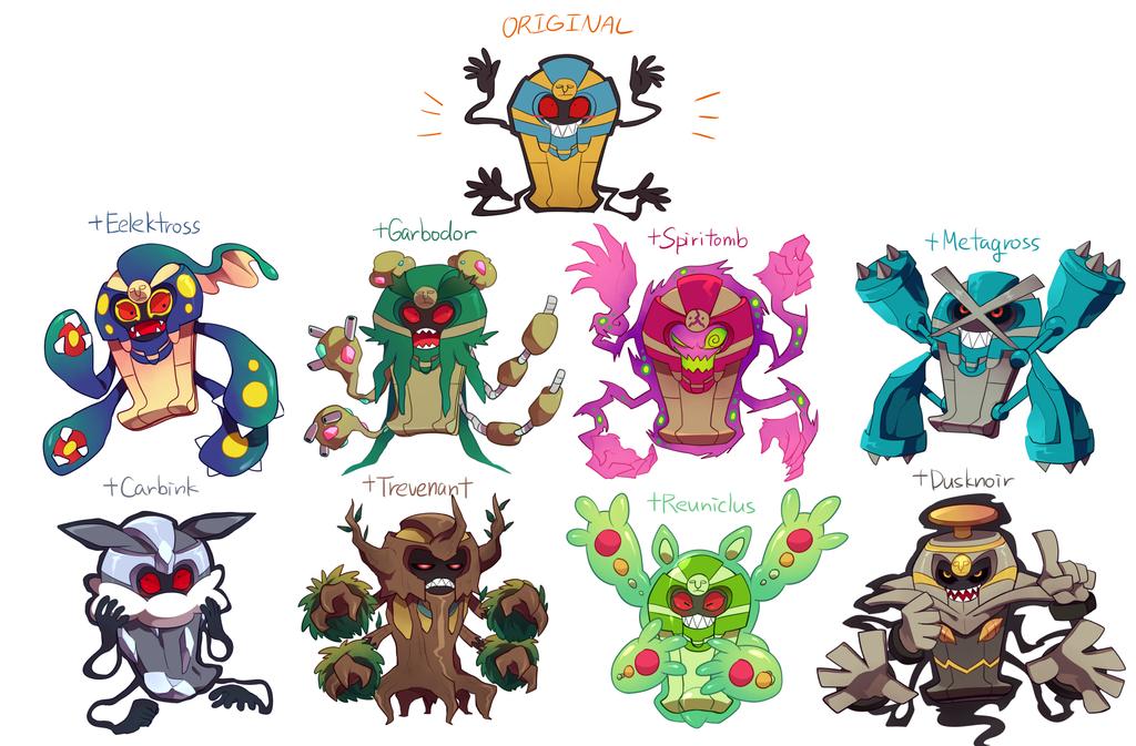 Pokemon Cofagrigus Images   Pokemon Images