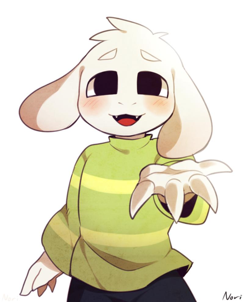 Asriel by Frisk1And1Chara on DeviantArt