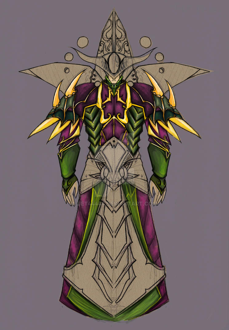 W.I.P of an armor set by jet44444