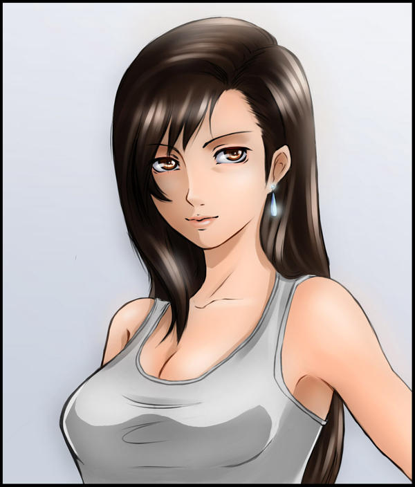 Fanart Tifa Lockart By Lan Nhi On Deviantart