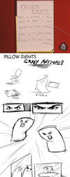 -Strip- Pillow Fights by Lan-Nhi