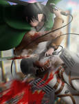 Levi Ackerman - Attack on Titan by Zer0Mechan1sm
