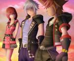 Kingdom Hearts 3 - Destiny Islands Trio by Zer0Mechan1sm