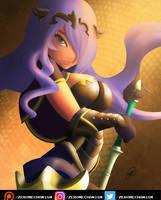 Camilla - Fire Emblem Fates v2 - Good as Gold by Zer0Mechan1sm
