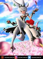 Elphelt Valentine - Guilty Gear by Zer0Mechan1sm
