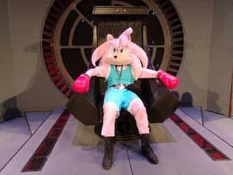 Samantha the Hedgehog as Balrog costume by Gerona-Queen