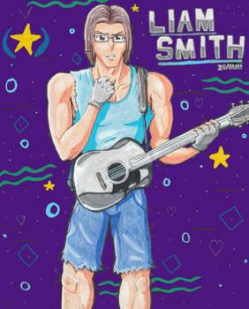 Liam's Chrome Guitar