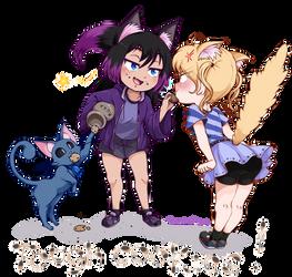 [Commission] Tough Cookies by StalkingP