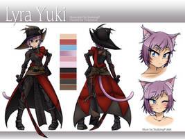 [Commission] Lyra Yuki ref sheet