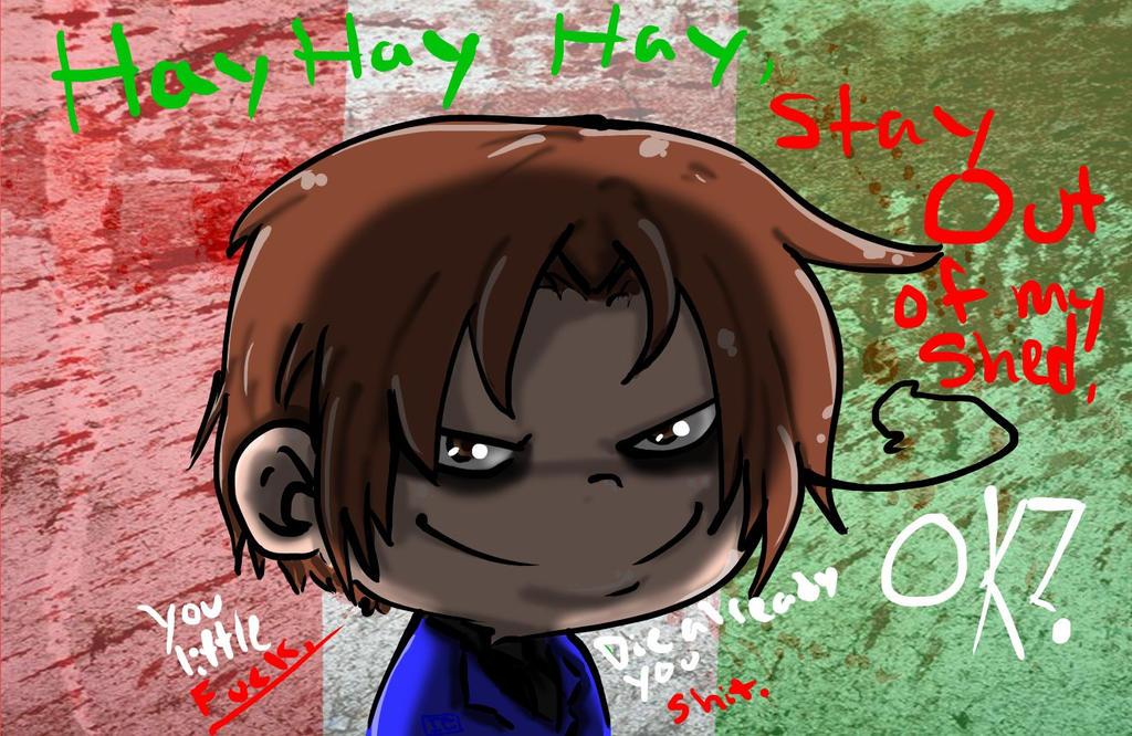 Hey Hey Hey Italy by InsainCat1111