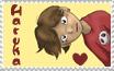 I Luv Haruka Stamp by KaeMantis