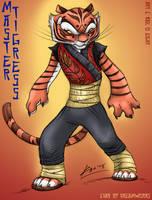 Enter the Tigress by KaeMantis