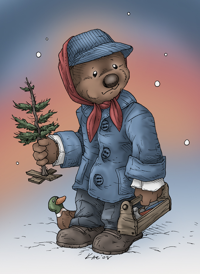 Emmet Otter by KaeMantis