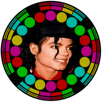 STAINED GLASS MICHAEL by KerensaW