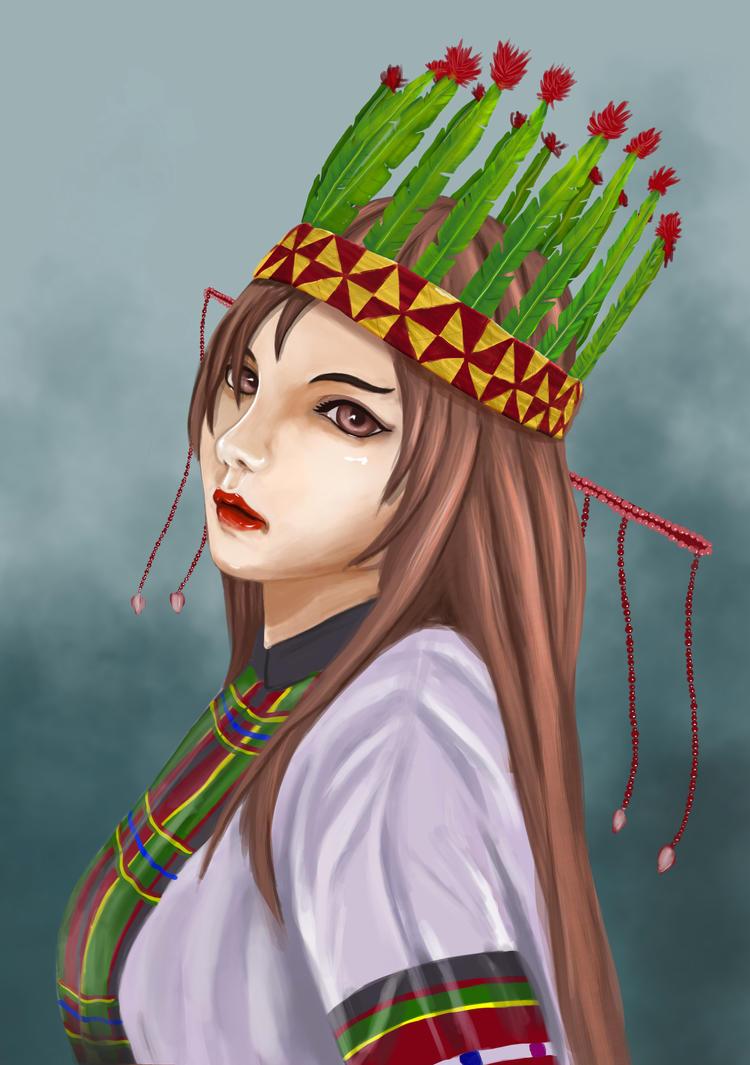 Mizo girl by Junicious