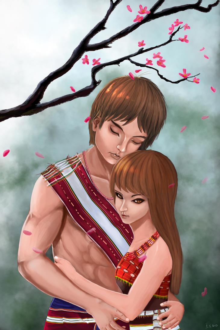 Rongmei Naga Couple by Junicious