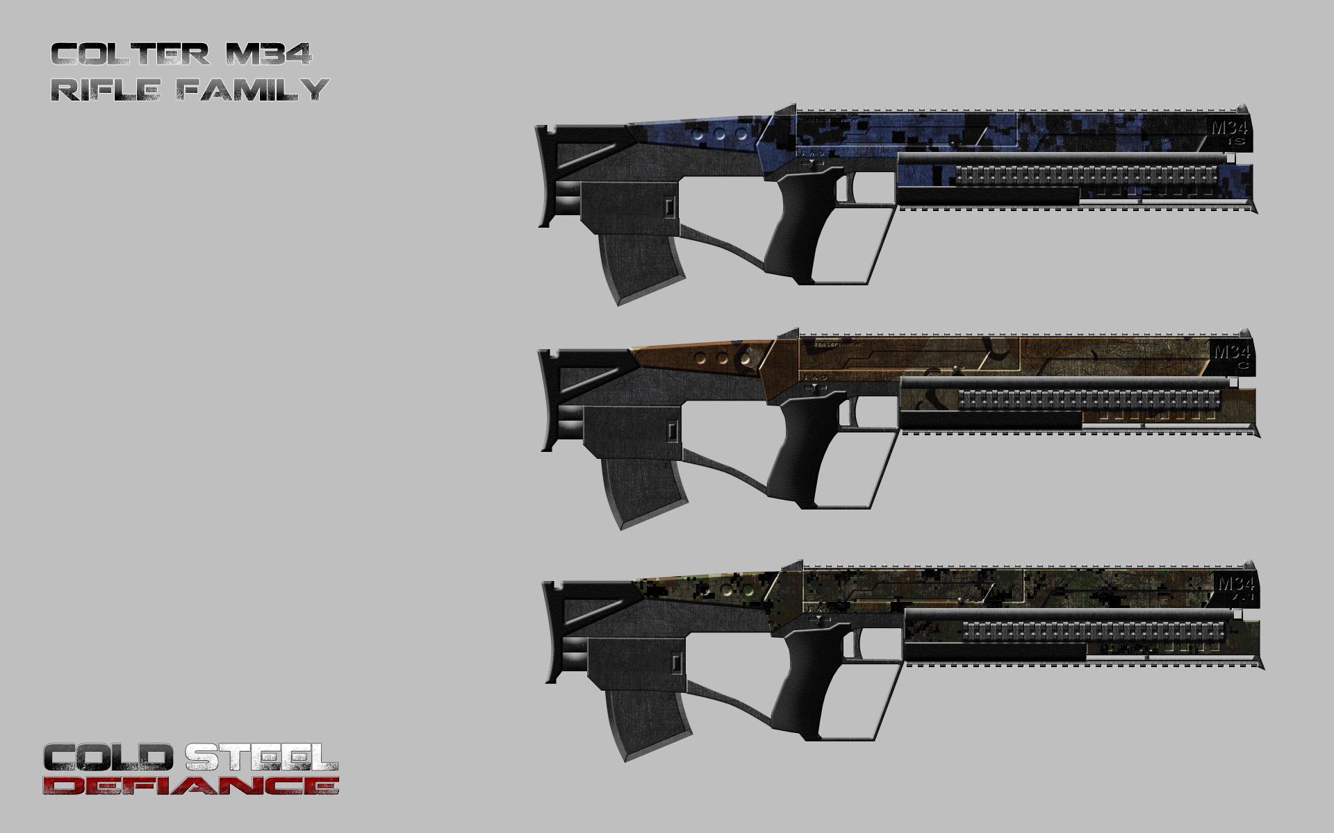 Concept Art Assault Rifle Family Krushvarrok Red Hood Guard Duty Batman