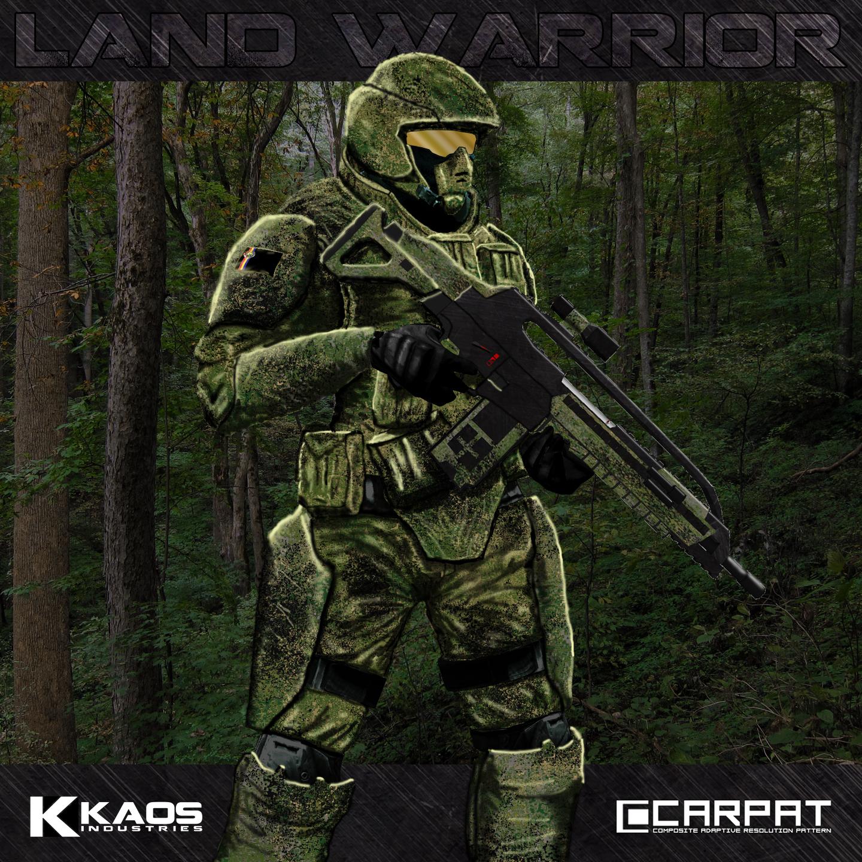 'Land Warrior' Program - Enhanced Soldier Concept