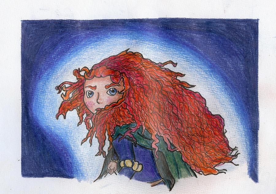Brave- Merida by PEACHROS3