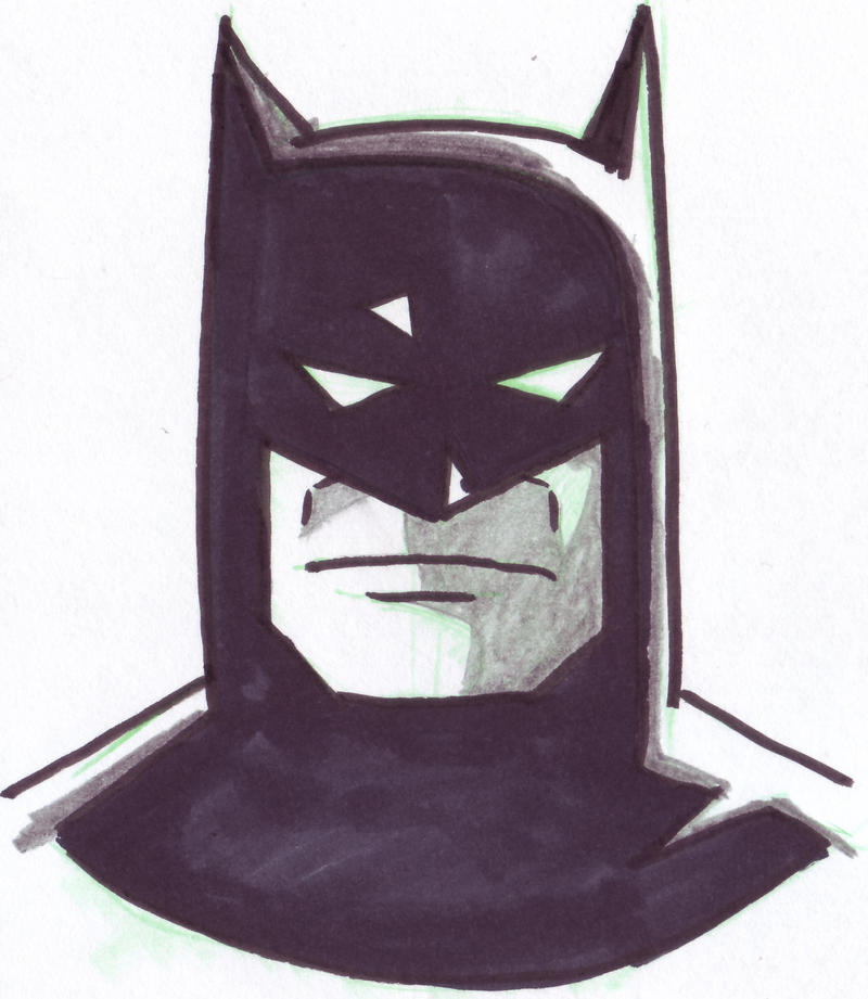 Batman Animated Series Face By Kubankin On Deviantart