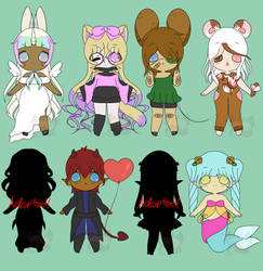 b8a1bdd3c ... Adopt Batch  OPEN  -- PRICE LOWERED by CherrySuccubus