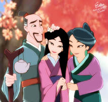 Mulan True love collection by Esther-Shen